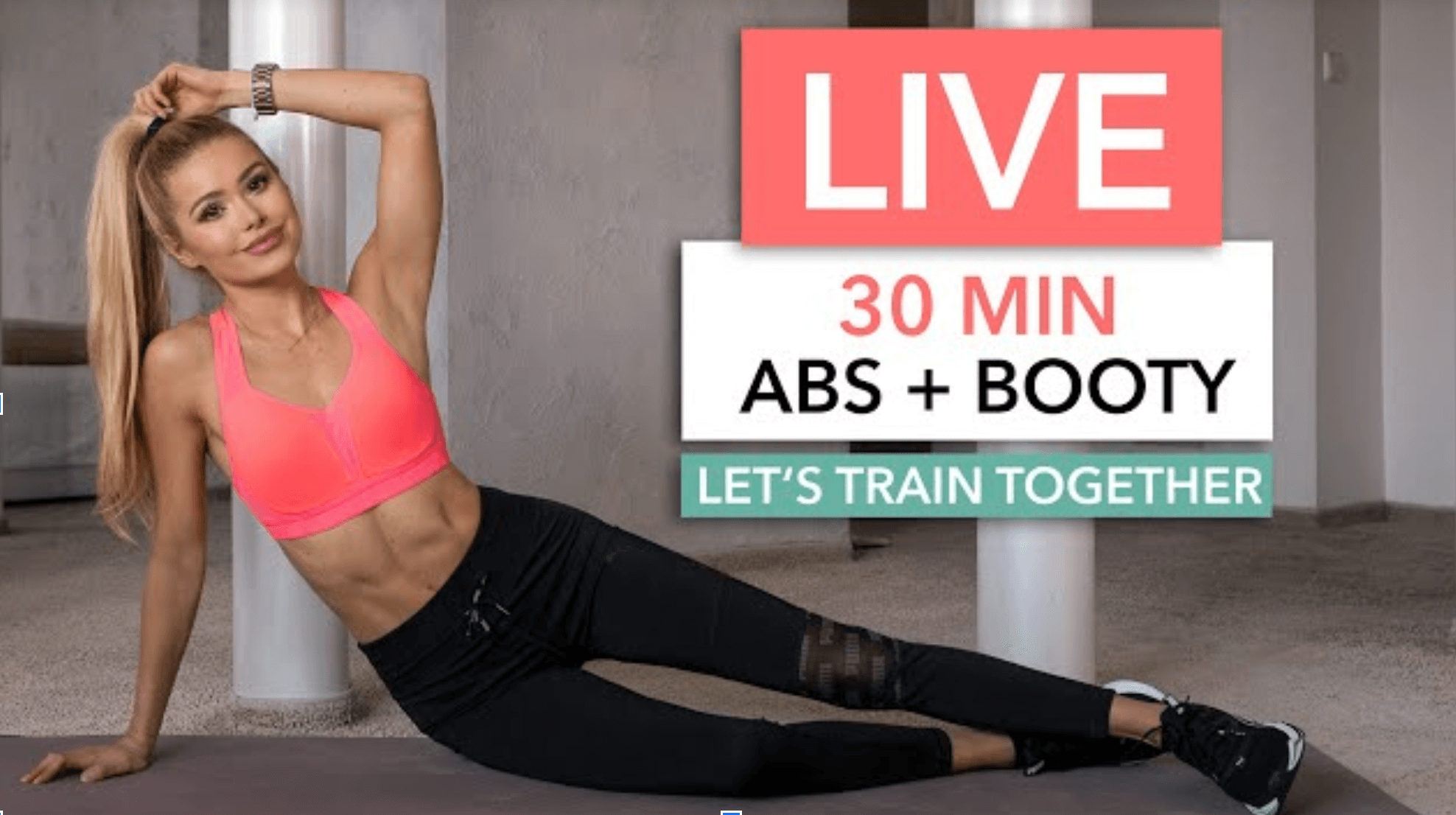 15 Minute Resistance Band Booty Workout